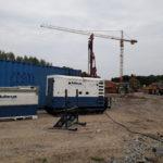 generator bouwwerven