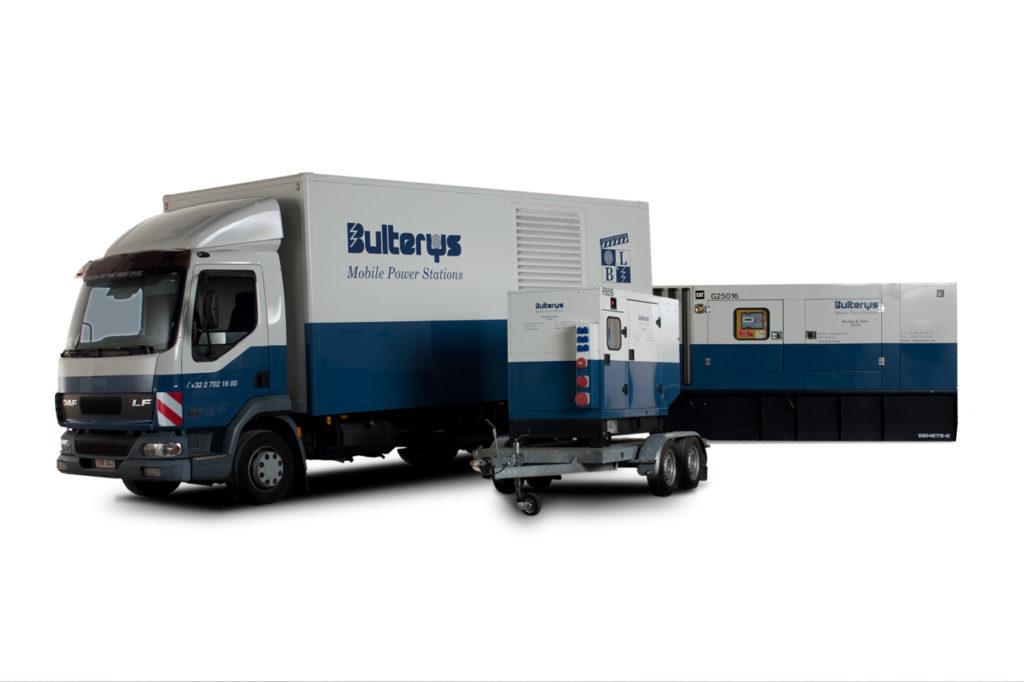 Bulterys aanbod verschillende stroomgeneratoren