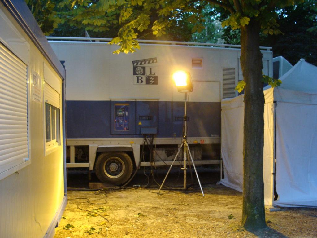 stroomgenerator beeldopnames broadcast