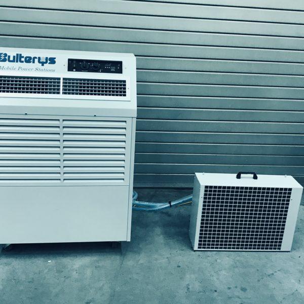 Mobiele luchtverwarmer